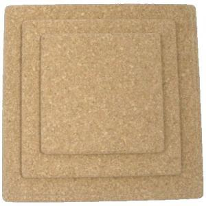 250mm Square Natural Cork Placemat