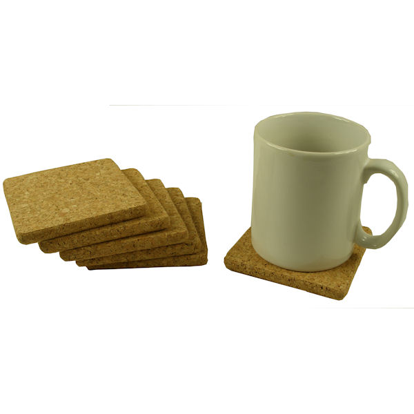 Natural Cork Thick Wine Coaster