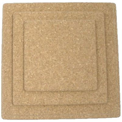 150mm Square Natural Cork Placemat